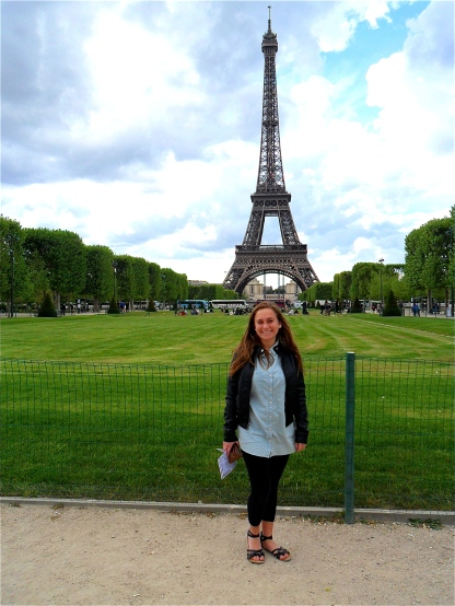 The Eiffel Tower with Steph