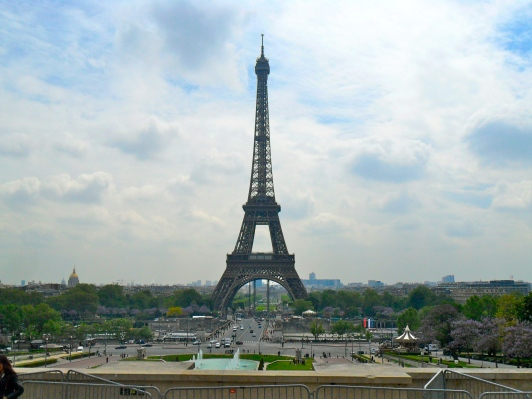 view from Palais de Chaillot