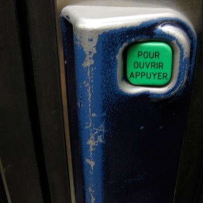 metro button
