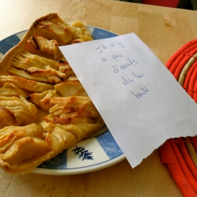 Tarte Aux Pommes (sans oeuf!)