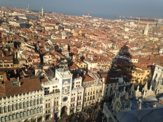 view from the Campanile San Marco