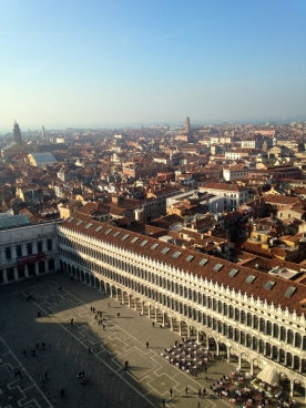 San Marco from the skies
