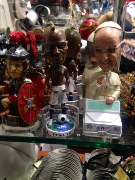 Papa Francesco and Mario Bolotelli
