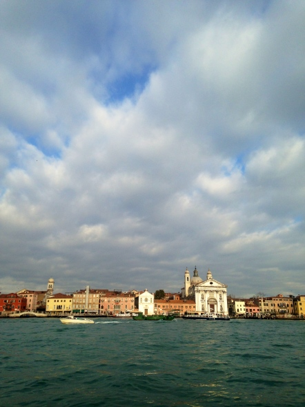 view from Giudecca