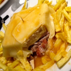 Francesinha - the most insane sandwich of my life