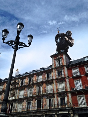The REAL King Kong in Madrid. I am NOT making this up.