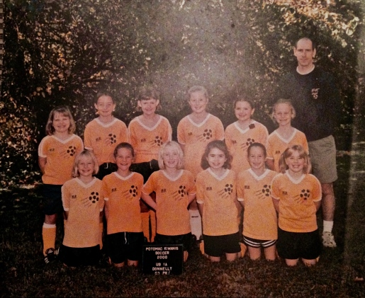 Here we are in 2000. A handful of these girls played with me through high school!