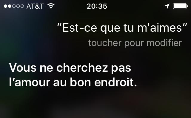 Bonjour Siri! (5/6)