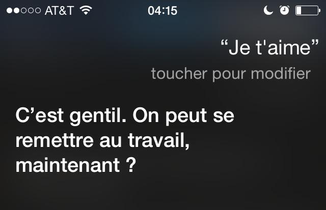 Bonjour Siri! (6/6)