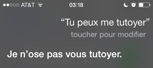 Bonjour Siri! (1/6)