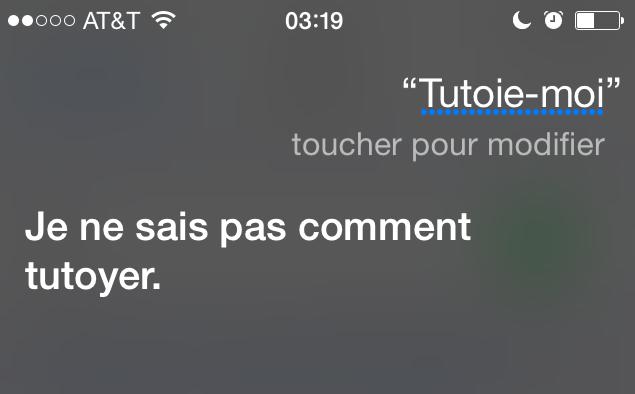 Bonjour Siri! (3/6)
