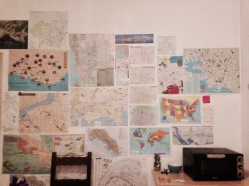 the wall of maps